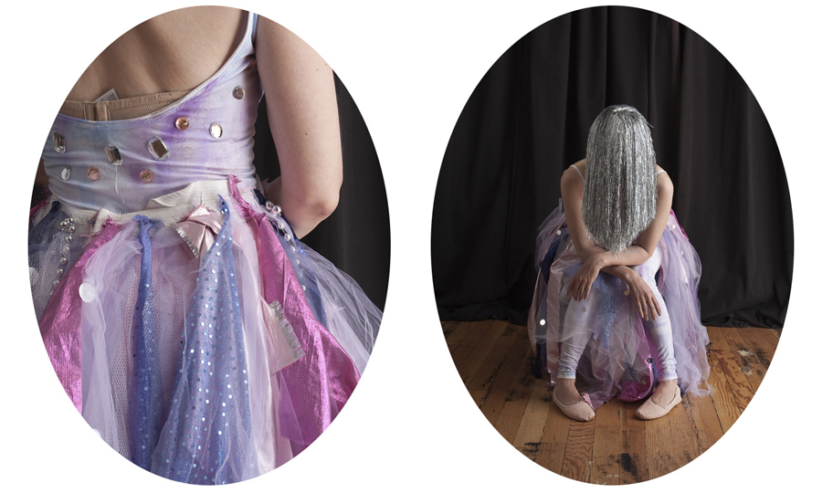 Dancer Diptych. Colour photograph. 2009